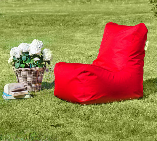 Duzzle poltrona sacco seat rossa outdoor