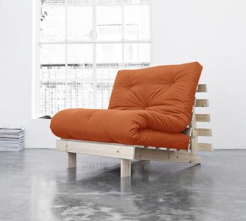 Duzzle divano letto roots karup arancione