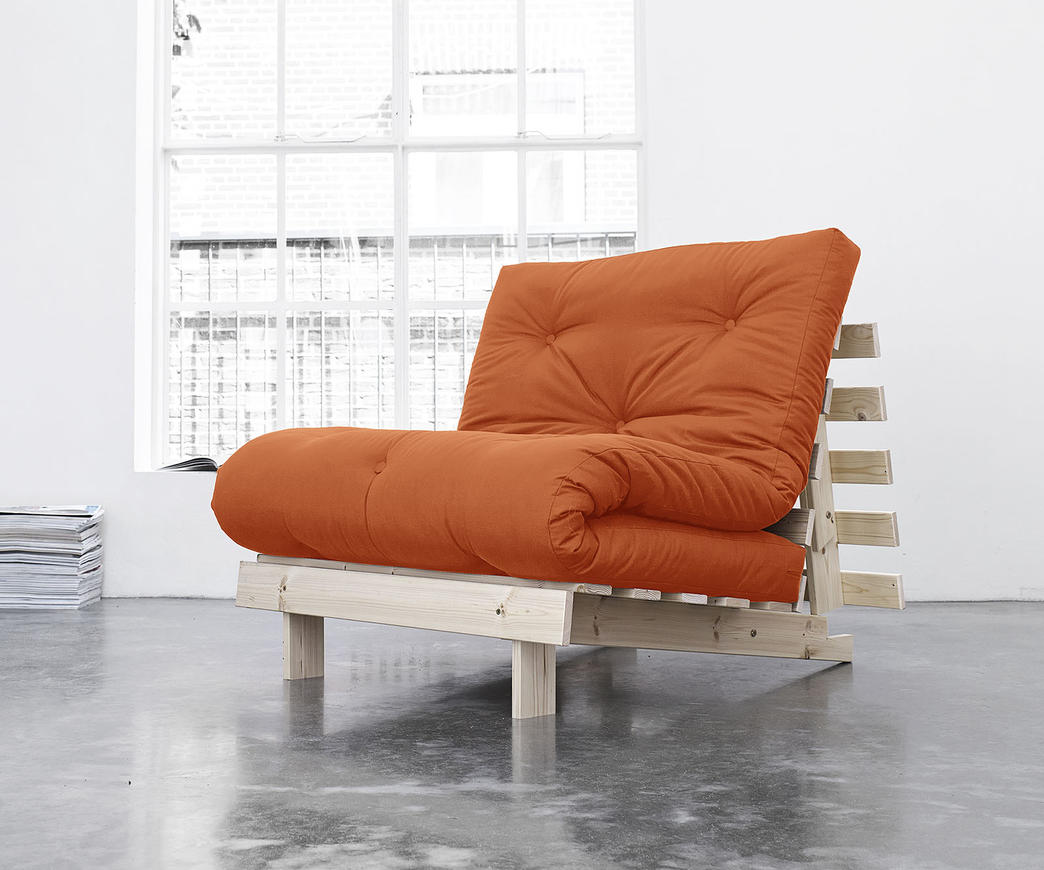 Divano letto roots cm karup arancione duzzle