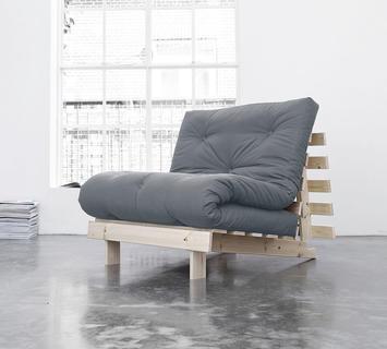 Duzzle divano letto roots karup grigio chiaro