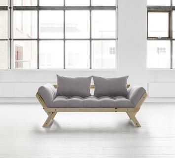 Duzzle divano trasformabile bebop grigio chiaro chiuso
