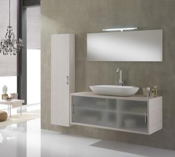 Arredamento per bagno moderno mobili specchi - Tft arredobagno ...