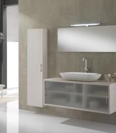 Arredo mobili da bagno moderni mensole cassettiere e - Arredo bagno amazon ...