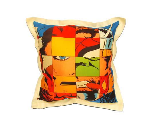 Duzzle cuscino arredo supereroi