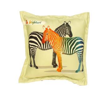 Duzzle cuscino arredo zebre