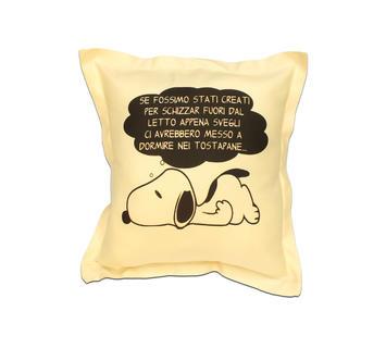 Duzzle cuscino arredo snoopy
