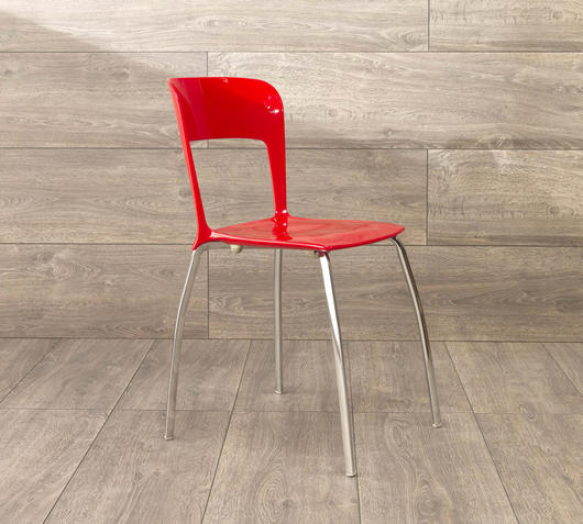 Duzzle sedia isabella da ufficio rossa stones