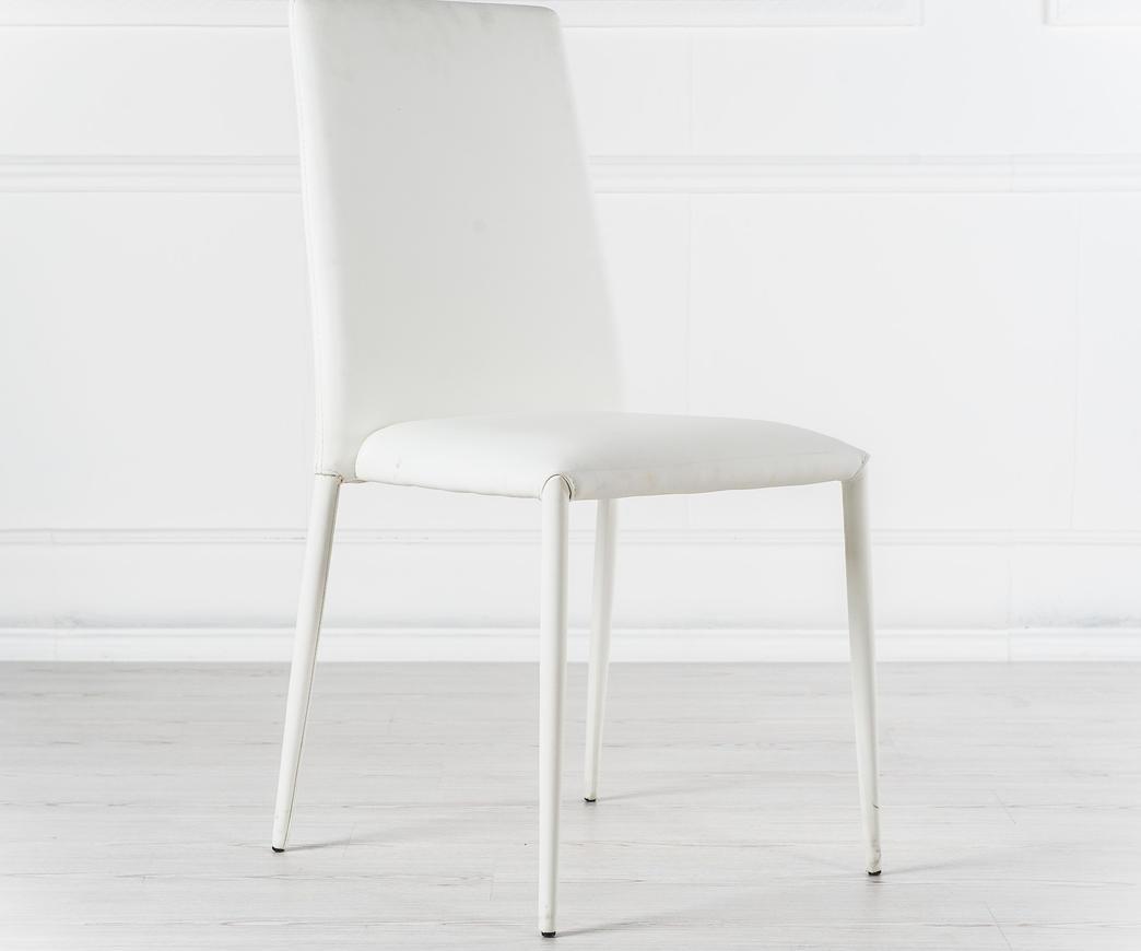 Sedie Ufficio Bianche : Sedia cleo bianca om 124 b di stones duzzle