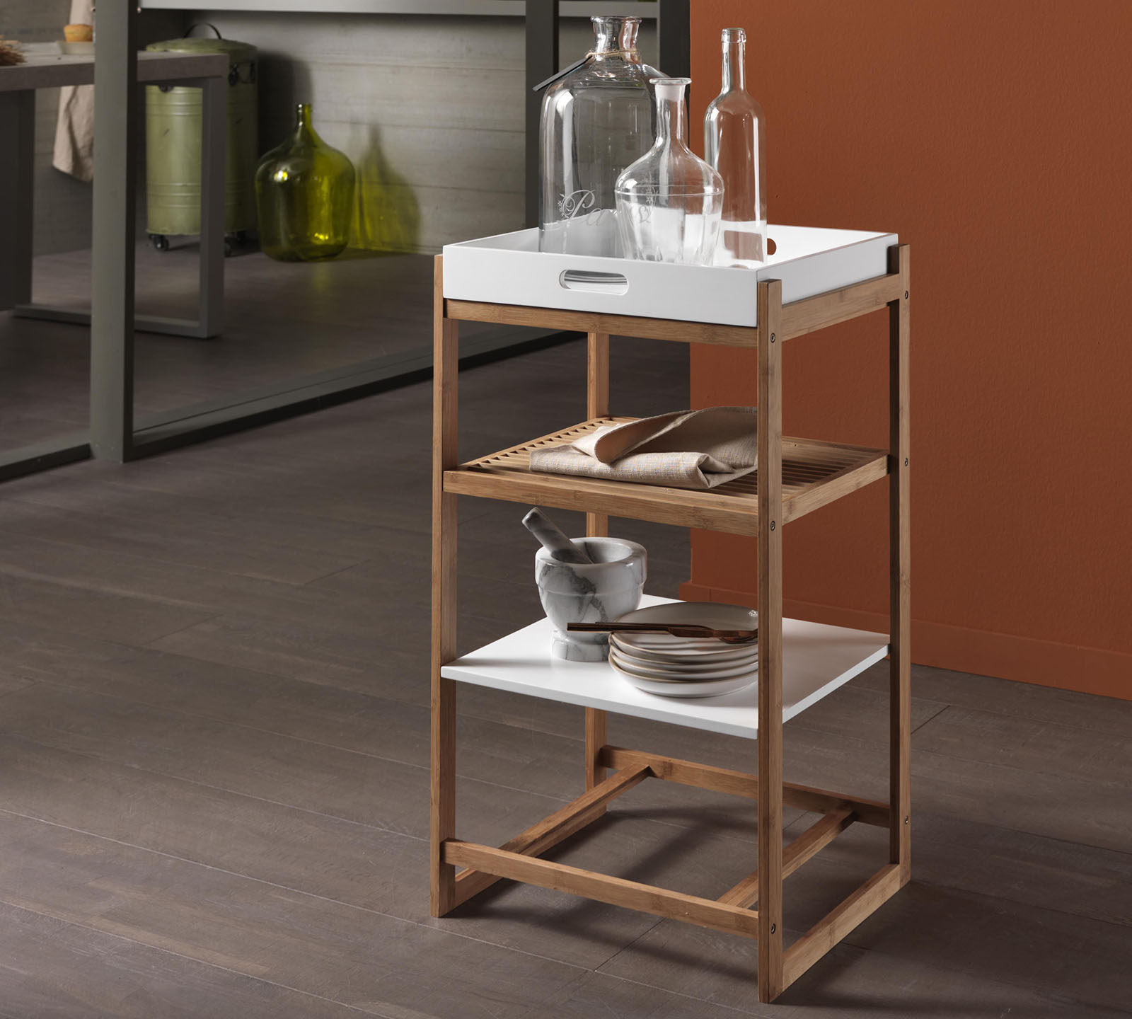 Perfect scaffale with scaffale for Garage in metallo con planimetrie abitative