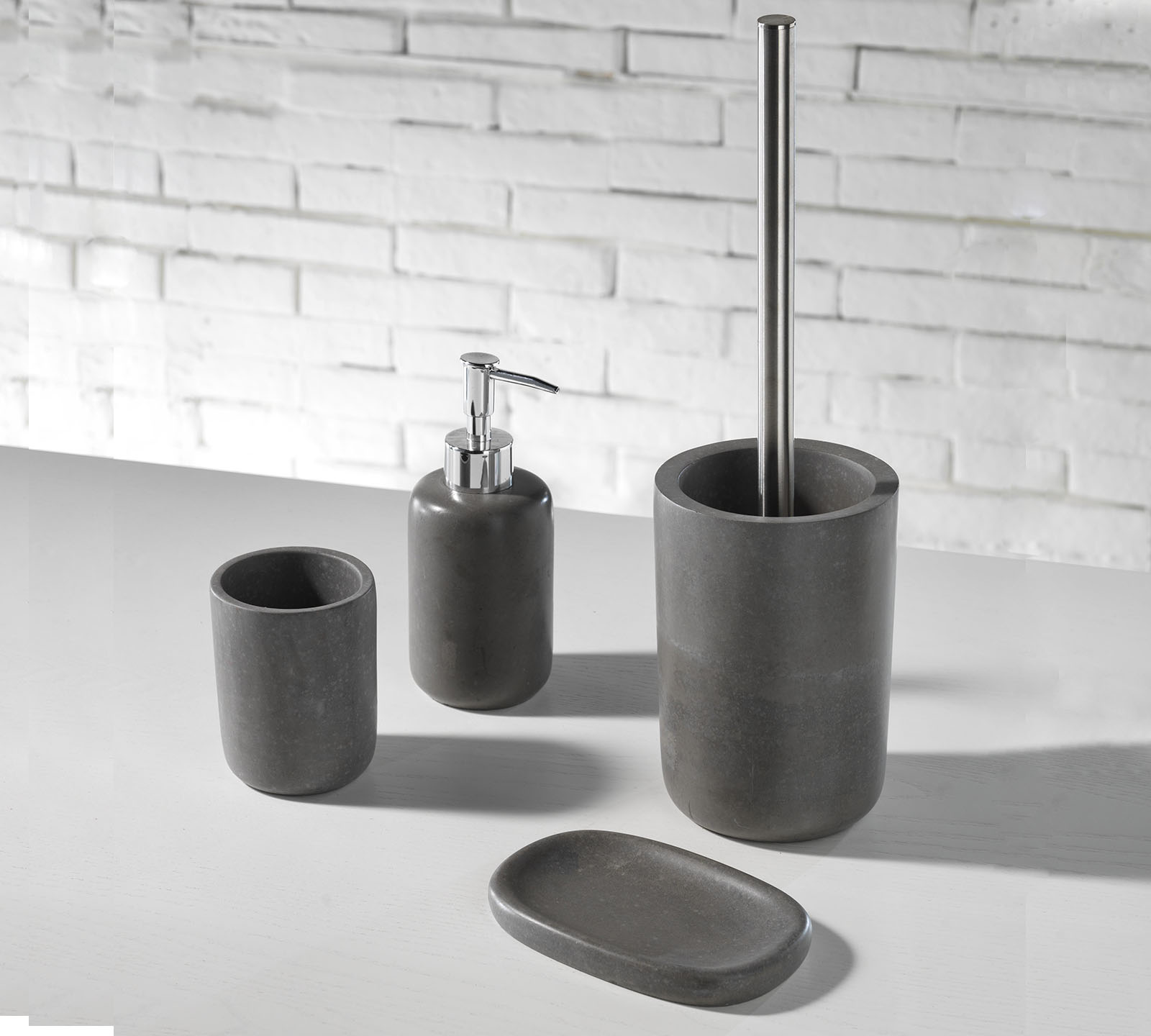 Set accessori bagno tft cod ke066 duzzle for Mobili bagno tft