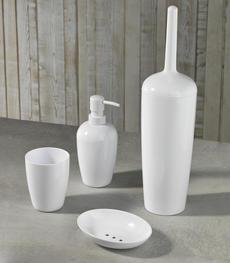 Accessori per bagno online bianchi cromati bamboo duzzle for Accessori bagno bianchi