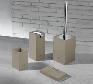 Accessori per bagno online bianchi cromati bamboo duzzle - Amazon accessori bagno ...