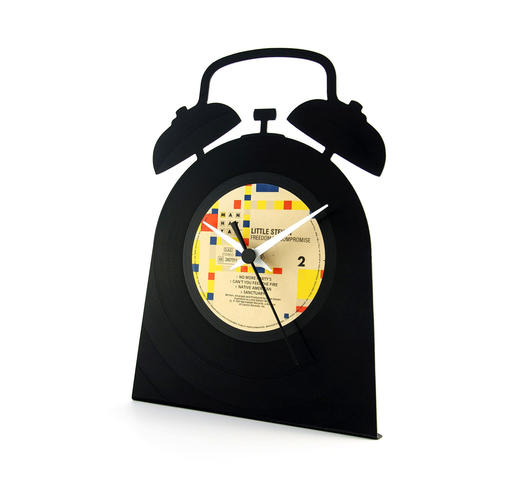 Duzzle orologio disco vinile time vinyluse