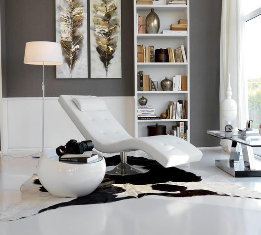 Duzzle chaise longue sleeper bianca stones