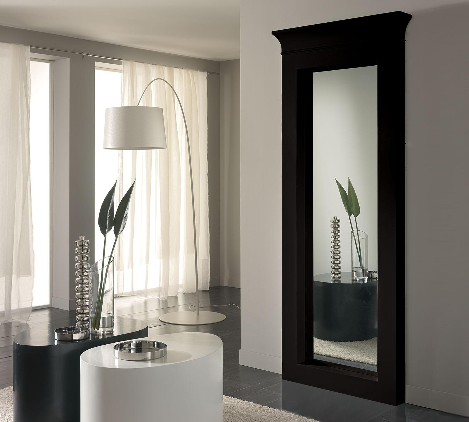 Specchio da terra nero wo 005 n duzzle - Specchi da parete amazon ...