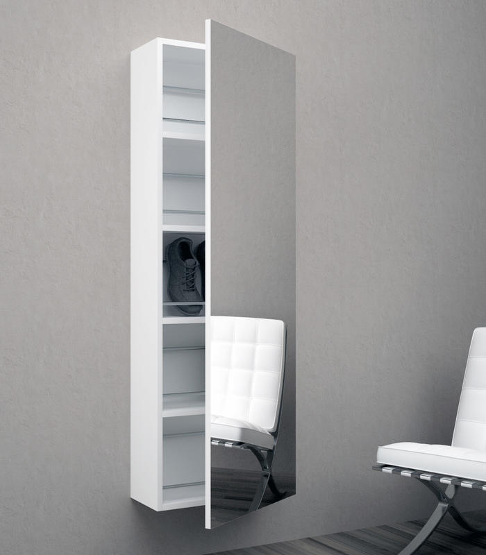 Mensole scaffali e librerie di design in legno e vetro for Tft arredamento