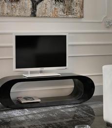 Mobile porta TV dal design moderno in legno o vetro   Duzzle