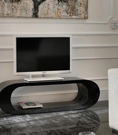 Mobile porta TV dal design moderno in legno o vetro | Duzzle