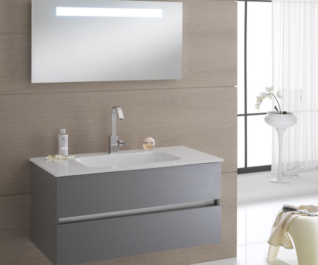 Composizione arredo bagno bali 10c platino duzzle for Tft arredo bagno