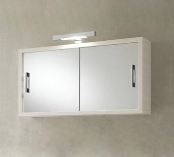 Specchio contenitore gv400 pino bianco duzzle - Specchiera bagno amazon ...