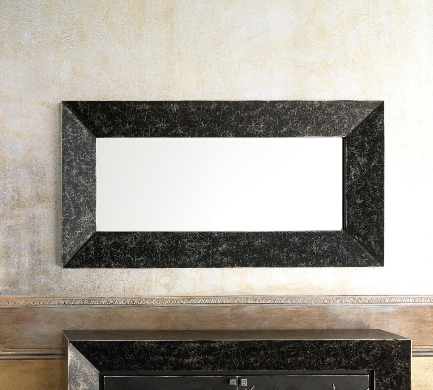 Specchio con cornice in ecopelle qu 051 duzzle - Offerte specchi ...