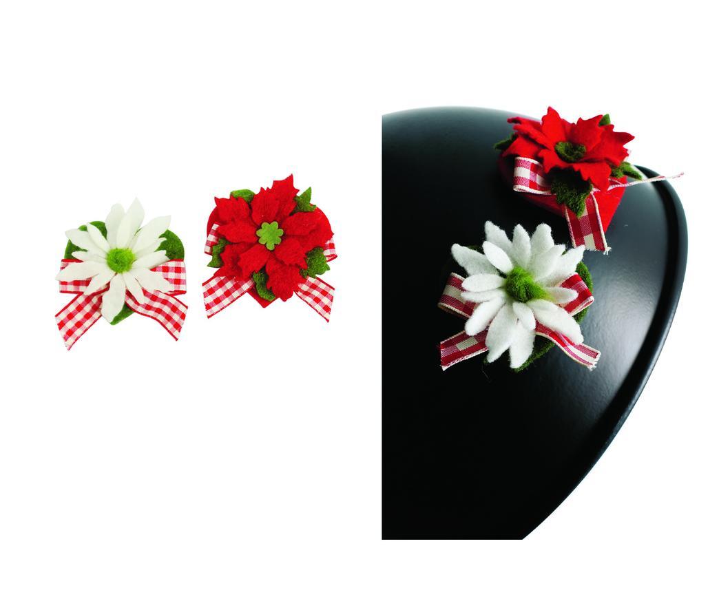 Stella Di Natale Con Feltro.Magneti Stella Di Natale Set 6 Pezzi Duzzle