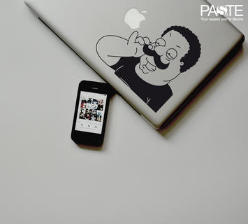 Duzzle stickers macbook 13 pollici adesivo mustache cleveland macbook air