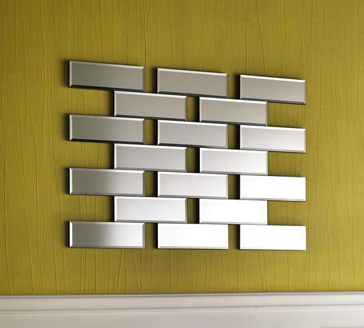 Duzzle specchio stones mattoncini mattoni specchio da parete
