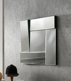Specchio con cornice in ecopelle QU-051 | Duzzle