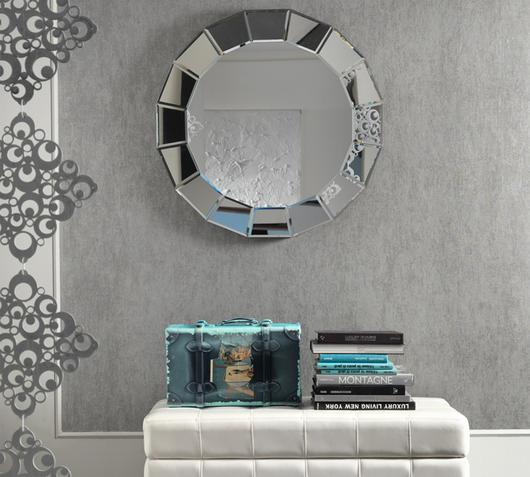 Duzzle specchio stones circolare parete sp019