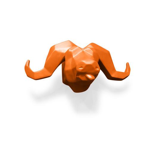 Duzzle stones stone  decor oggettistica bufalo arancione
