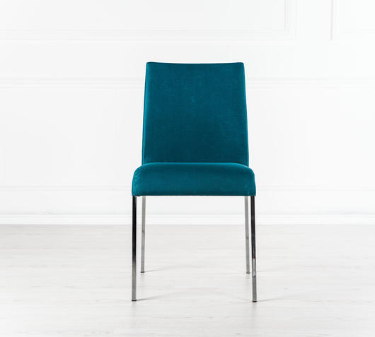 Duzzle sedia living blu design twist fronte