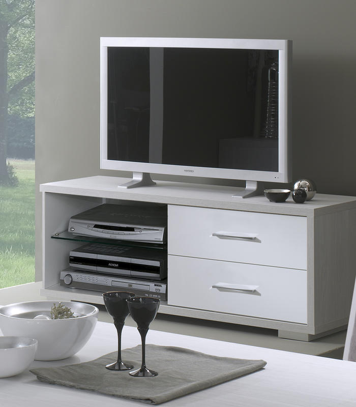 Mobile porta tv dal design moderno in legno o vetro duzzle - Porta alla rovina otello ...