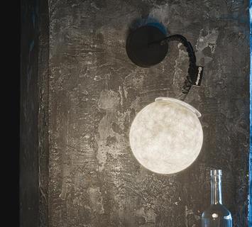 Duzzle applique lampada da parete luna applique micro luna applique in es artdesign