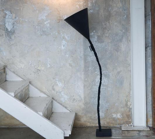 Duzzle lampada da terra lavagna nebulite flower lavagna in es artdesign