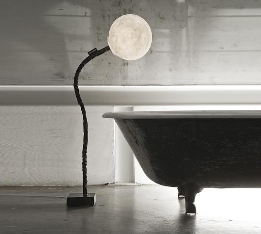 Duzzle piantana lampada da terra luna micro luna piantana in es artdesign