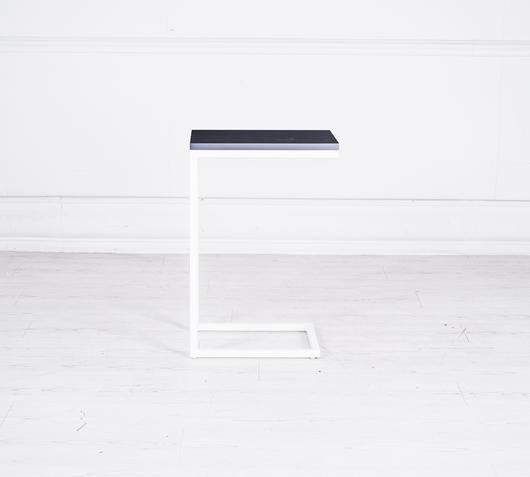 Duzzle tavolinetto bianco grigio (2)