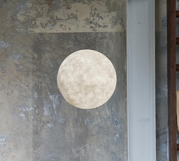 Duzzle applique a moon 2 lampada da parete in es artdesign a. moon