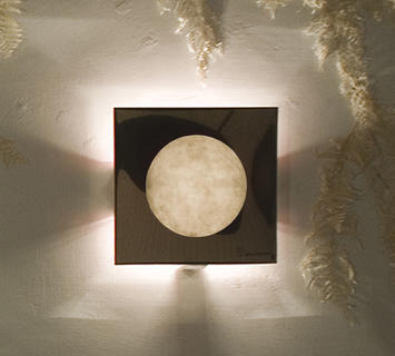 Duzzle in es artdesign lampada da parete applique washmachine 1 bianco