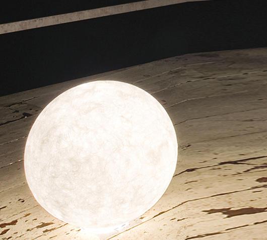 Duzzle ex moon 1 lampada da terra in es artdeisgn diametro 50