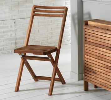 Duzzle sedia pieghevole legno esterno