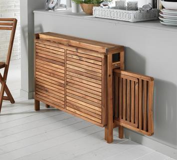 Duzzle consolle allungabile due sedie legno chiuso