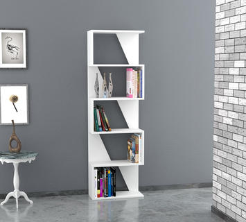 Duzzle libreria frame bianco