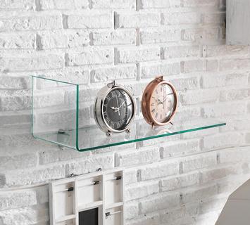 Duzzle libreria vetro trasparente design twist living fronte1
