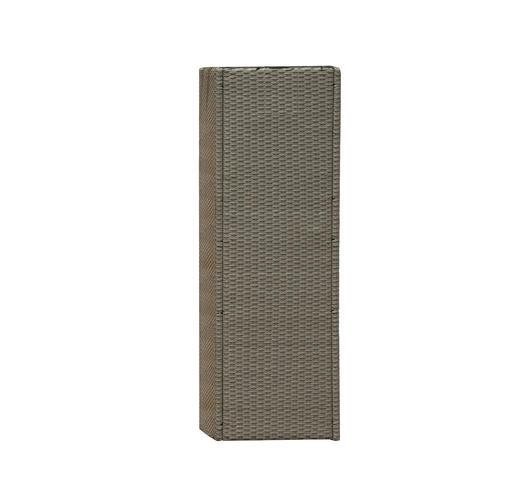 Duzzle greenwood moia fioriera verticale wicker vaso rettangolare alto plw02 dett
