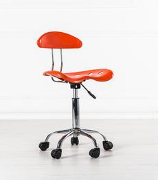 Mobili per ufficio online scrivanie librerie e sedie for Sedia ufficio gialla