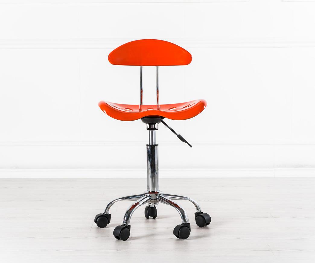 Sedie Da Ufficio Plastica.Sedia Titti Arancio Om 126 A Duzzle
