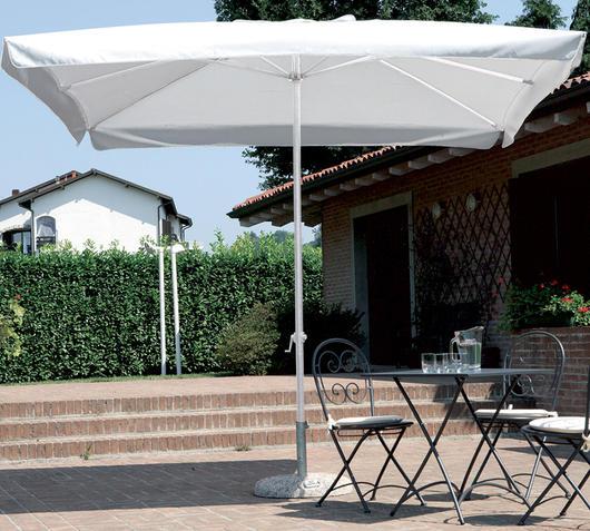 Duzzle greenwood ombrellone quadrato 3 x 3 metri ecrù 5007 moia