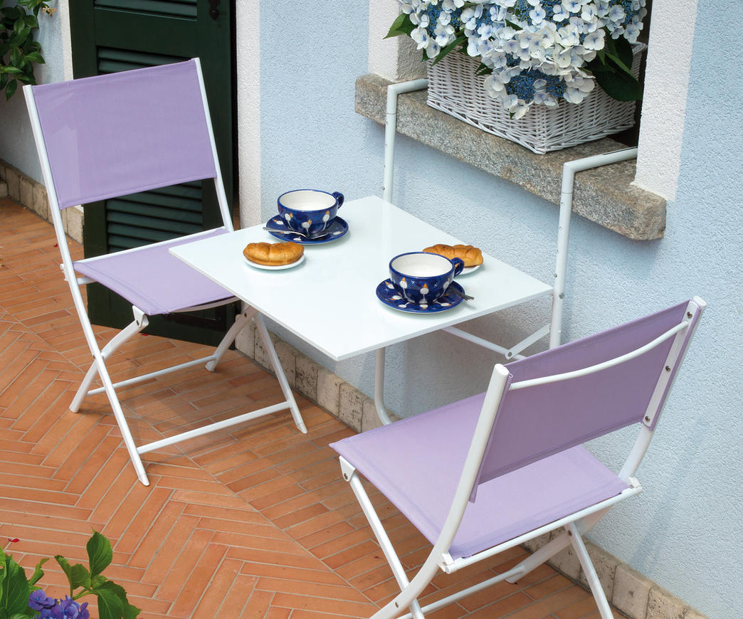 Tavoli Da Balcone Pieghevoli.Tavolo Da Ringhiera Rtf19b Bianco