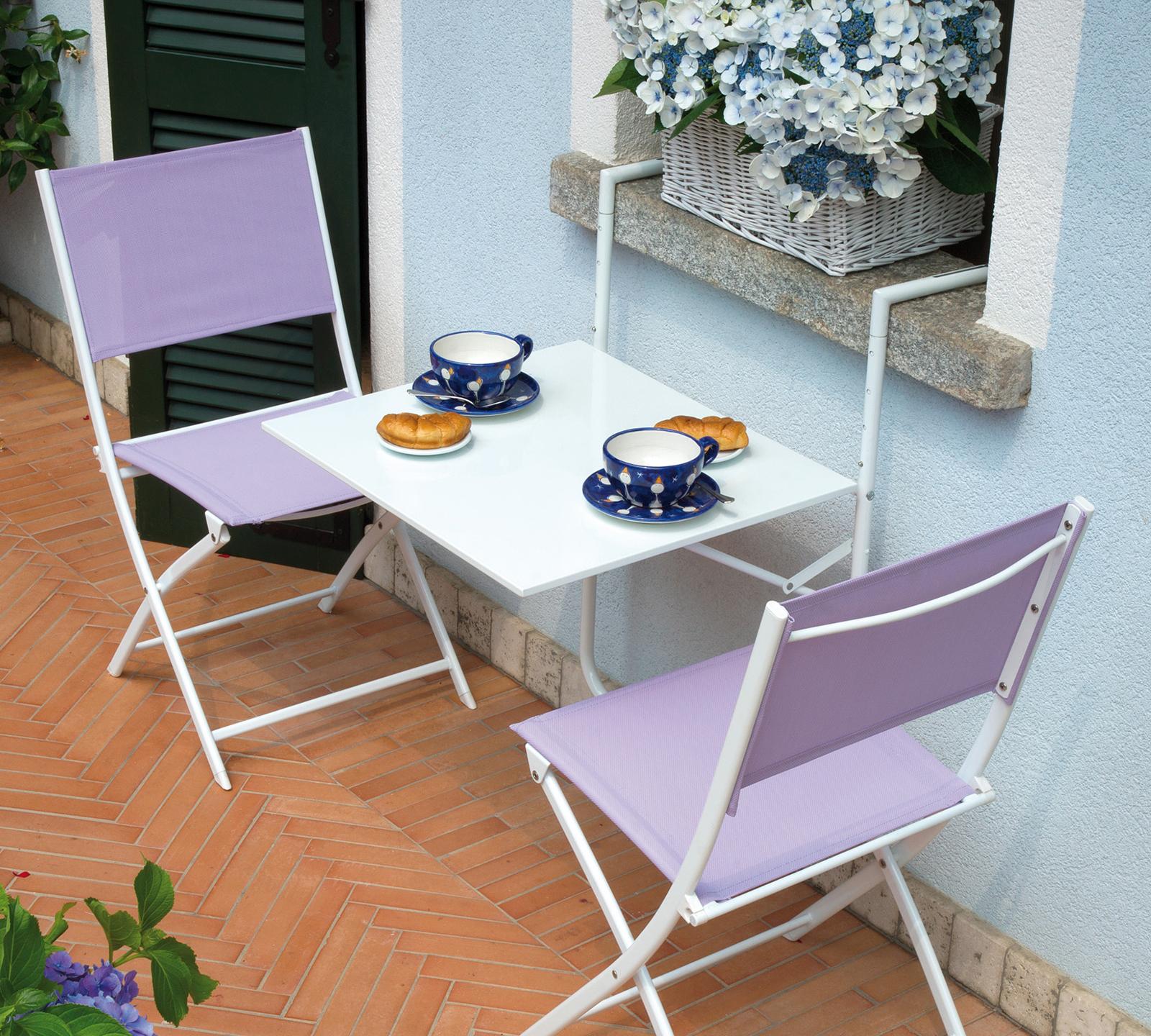 Tavolo da ringhiera rtf19b bianco duzzle for Tavolo per balcone da appendere